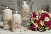 Свеча Свадебная колонна 70x150 Bartek Candles 5901685040310