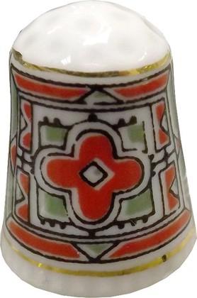 Напёрсток фарфоровый Орнамент, ф. Колокольчик ИФЗ 80.02786.00.1