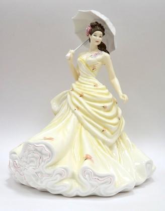 Статуэтка Валерия, фарфор, 22см English Ladies ELGELS01303