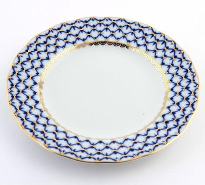 Тарелка десертная Кобальтовая сетка, ф. Тюльпан, 1 шт ИФЗ 80.00230.00.1