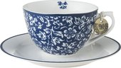 Кофейная пара Laura Ashley Sweet Allysum капучино, 260мл 178675