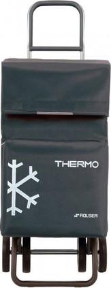 Термосумка-тележка хозяйственная серая Rolser DOS+2 THERMO TER038marengo
