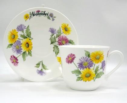 Чайная пара для завтрака Ноябрь, 500мл Roy Kirkham COFOTMN1101
