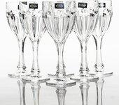 Набор бокалов для вина Сафари 6шт, 290мл Crystalite Bohemia 1KC86/0/99R83/290