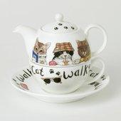 Чайник на одного Roy Kirkham Коты модники XANICAT1201