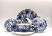 Сервиз чайный ИФЗ Тюльпан, Вьюнок, 20 предметов 81.11152.06.1
