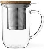 Чайная кружка с ситечком Viva Scandinavia Minima, 0.5л, стекло, прозрачный V71400