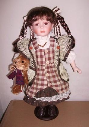 Кукла фарфоровая 51см Роксана Top Art Studio WA1249-TA