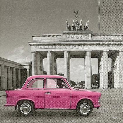 Салфетки для декупажа Берлин, 33x33см, 3 слоя, 20шт Paper+Design 21854