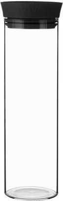 Графин Viva Scandinavia Drip Free Minima, 1л, стекло прозрачный, черный V28001