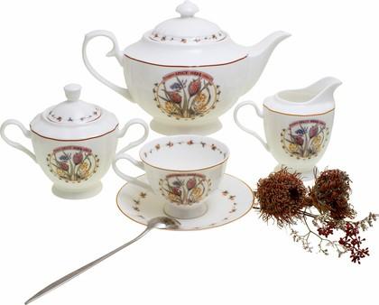 Чайный сервиз Прованс 15 предметов Top Art Studio YF1388-TA