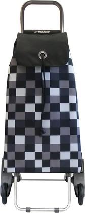 Сумка-тележка Rolser Dama, шагающая, чёрная IMX033blanco
