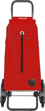 Сумка-тележка Rolser MF, красная, 6 колёс, шагающая, складная IMX092Rojo