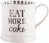 Кружка KitchenCraft Stir It Up Eat more cake 280мл 5174338