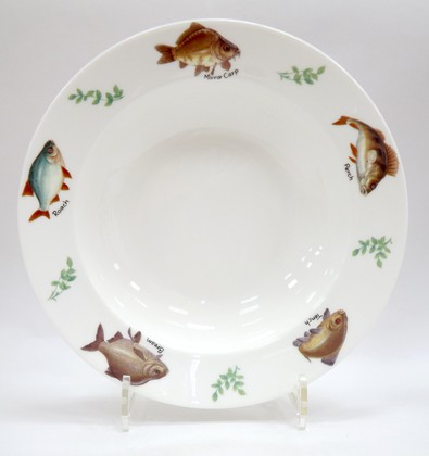 Тарелка суповая 24см Рыбалка Roy Kirkham XFISH1265