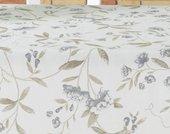 Скатерть Aitana Shoko, 140х200см, водоотталкивающая, бежевые цветы SHOK/140200/nature