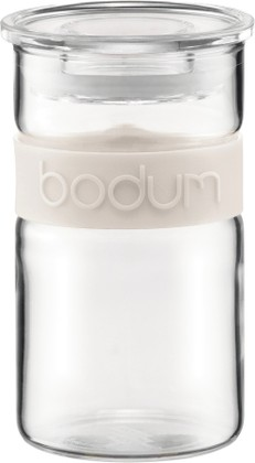 Банка для хранения 0.25л, белая Bodum PRESSO 11128-913
