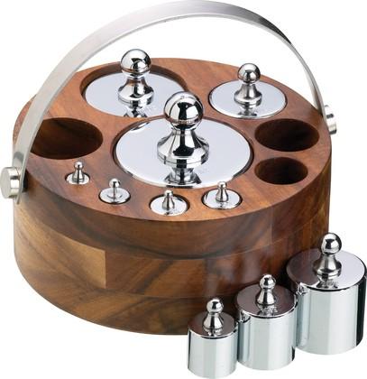 Набор метрических гирь Kitchen Craft Natural Elements NEWGTMET10