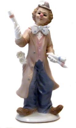 Статуэтка Клоун фокусник, 26см The Leonardo Collection LP12711