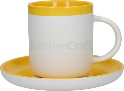 Кофейная пара KitchenCraft La Cafetiere Barcelona, Янтарный, 280мл C000412