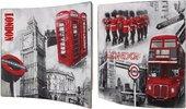 Модульная картина Top Art Стиль Лондона 38x38см, пара, дерево, лак WDP1121-TA