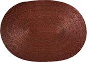 Салфетка под посуду Asa Selection Makaua овальная, 46x33см, коричневый 79052/058
