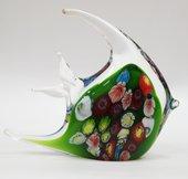 Фигурка стеклянная Цветная рыбка 15.5x14.5см Top Art Studio ZB1525-TA
