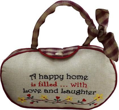 Дорстопер Счастливый дом, 30см Widdop Bingham WDS234