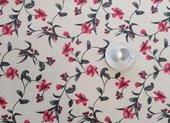 Скатерть Aitana Hals, 140x100см, водоотталкивающая, красные цветы HALS/140100/red