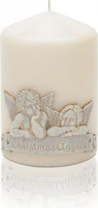 Свеча декоративная Bartek Candles Рафаэль, колонна 8x12см 5901685010597