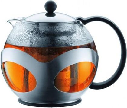 Чайник заварочный c прессом, Kenya, 0,5л, хром, 10695-16