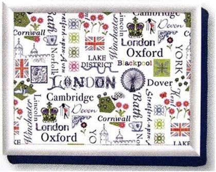 """Поднос с подушкой """"Англия"""" Creative Tops LT3672"""