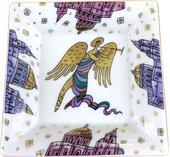Подставка для мелочи ИФЗ Европейская, Ангел золотой, фарфор 80.72518.00.1