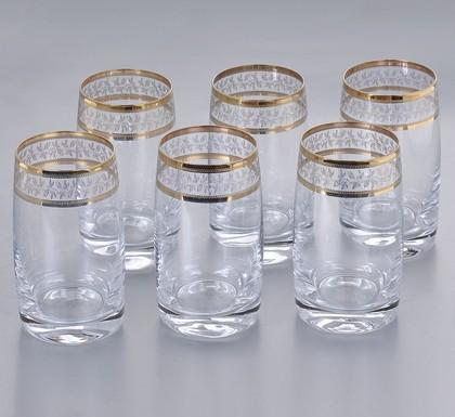 Стаканы для воды Идеал 250мл, 6шт Crystalite Bohemia 25015/250/43081K
