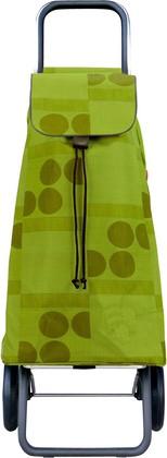 Сумка-тележка хозяйственная зелёный лайм Rolser LOGIC RG PAC010lima