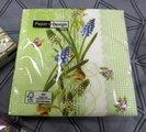 Салфетки для декупажа Paper+Design Мускари, 25x25см, 20шт 11899