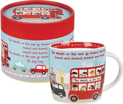 Кружка На автобусе 285мл, Spice Queens WHEE00021