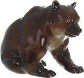 Скульптура ИФЗ Медведь бурый, фарфор 82.04678.00.1