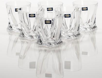 Стакан для виски Квадро 6шт, 340мл Crystalite Bohemia 2K936/0/99A44/340