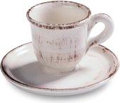 Сервиз кофейный Fade Servizio Caffe Rustica, чашки с блюдцами, 80мл, 6 персон 49836