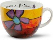 Чашка для завтрака EGAN Любовь и фантазия Красная, 600мл PAF03/1S