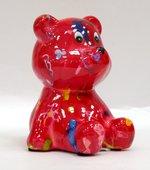 Копилка Pomme-Pidou Мишка Тэдди, мини, розовый 9.5x9x10.5см 148-00250/C