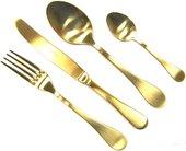 Набор столовых приборов Herdmar Old Gold, 24 предмета, состаренное золото 08930241600E16