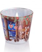 Свеча в стакане Bartek Candles Очарование Рождества 5901685040006