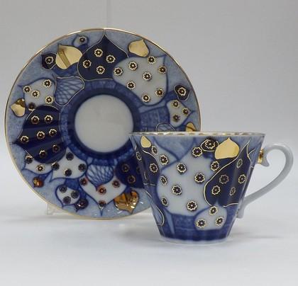 Чашка с блюдцем ИФЗ Лучистая, Перезвоны №1 81.13809.00.1