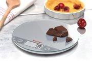 Весы электронные кухонные круглые серебристые 5кг/1гр Soehnle Flip silver 66161