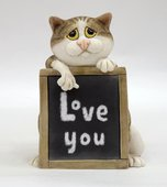 Статуэтка По уши влюблённый (Love you) Enesco A25895