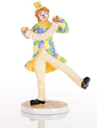 Статуэтка English Ladies Клоун-Конферансье 23.5см, фарфор ELGELS05901