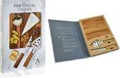 Подарочный набор из 2 ножей и доски для сыра Andrea House CC65021