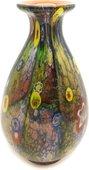 Ваза из цветного стекла 34см Top Art Studio ZB2180-TA